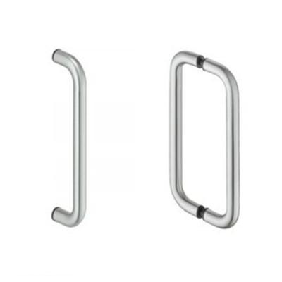 Acero inoxidable herrajes diagonal for Manijas para puertas de vidrio