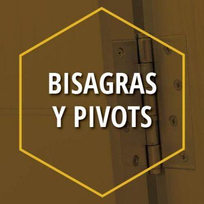 BISAGRAS Y PIVOTS