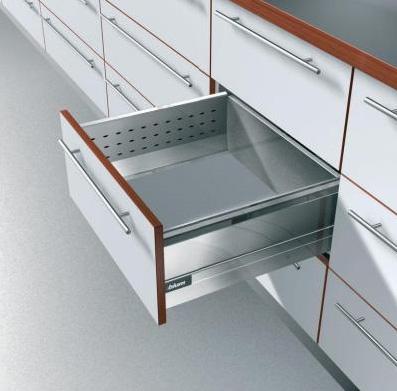 Corredera oculta con boxside herrajes diagonal for Herrajes para muebles de oficina